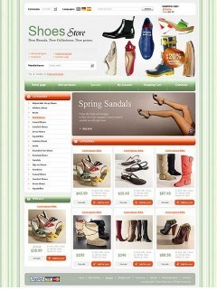 Shoes Store osCommerce