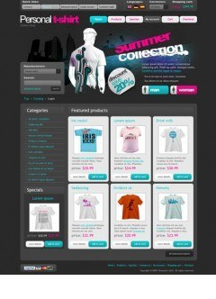 T-shirt osCommerce