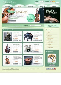Music Store osCommerce