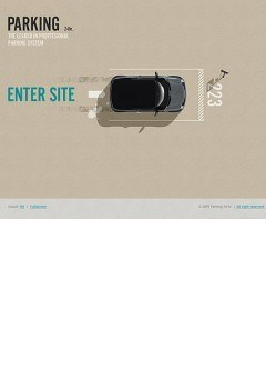 Parking 24h. Easy flash template