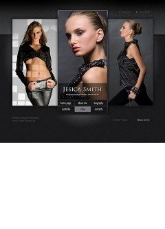 Models folio Easy flash template