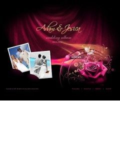 Wedding album PhotoVideoAdmin