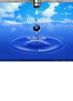 Clean water Easy flash template
