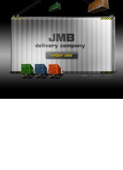 JMB Delivery co. Easy flash template