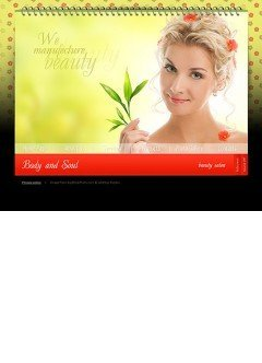 Beauty salon Easy flash template