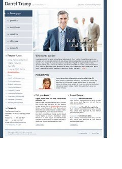 Private Lawyer html dreamweaver template