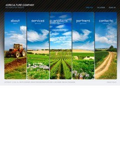 Agriculture Easy flash template