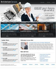 Architecture Co. Website template