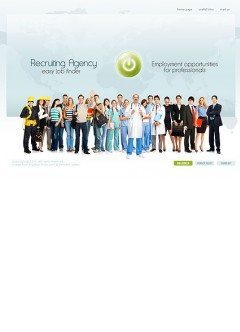 Recruiting Agency Easy flash template