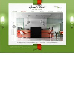 Grand Hotel Easy flash template