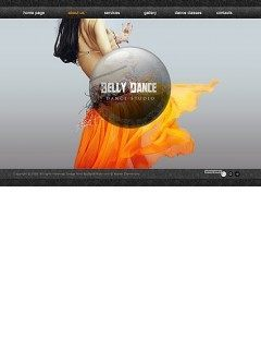Belly Dance Easy flash template