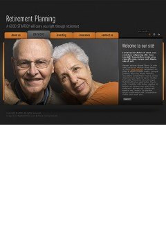 Retirement planning Easy flash template