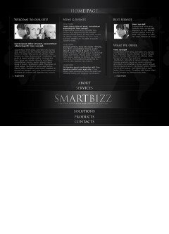 Smart Business Easy flash template