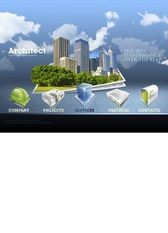 Architect Easy flash template