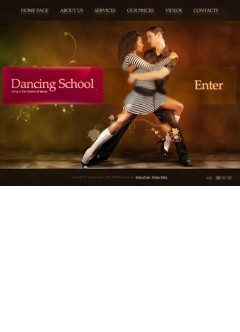 Dancing School VideoAdmin flash