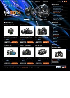 PhotoVideo Store osCommerce