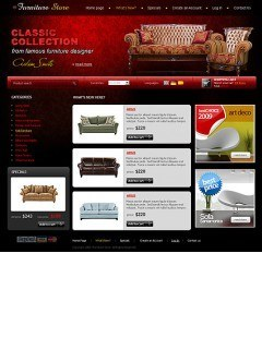 Furniture Store osCommerce