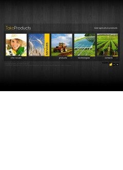 Agriculture Products Easy flash template