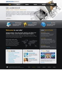 Architect Agency Website template