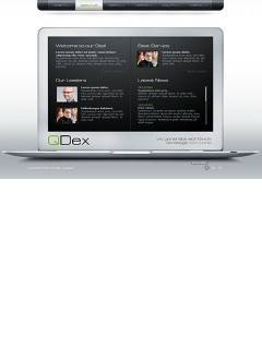 Laptop business Easy flash template
