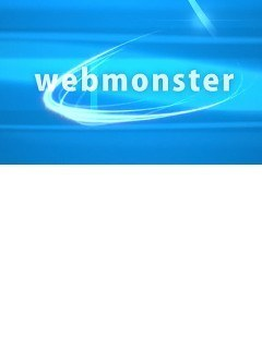 Web Monsters Flash intro template