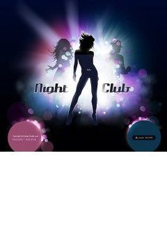 Night Club Easy flash template