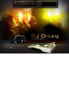DJ Easy flash template