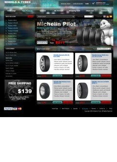 Wheel & Tyres osCommerce