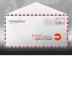 Mail Service Easy flash template