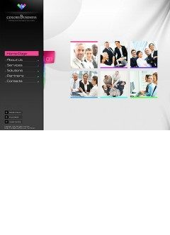 Business Colors Easy flash template