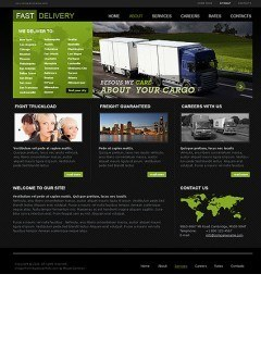 Fast Delivery html dreamweaver template