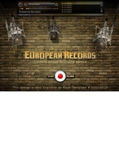 Europian Records Easy flash template