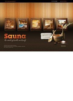 Sauna Easy flash template