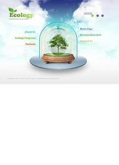 Ecology Protection Easy flash template