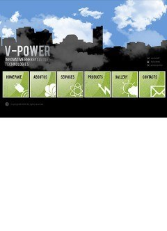 V-Power Easy flash template