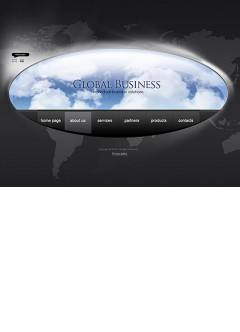 Globe business Easy flash template