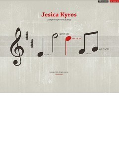 Composer Page Easy flash template