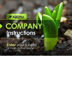 Agro Plus Powerpoint templates