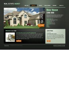 Real Estate Easy flash template