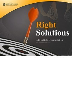 Right Solutions Powerpoint templates