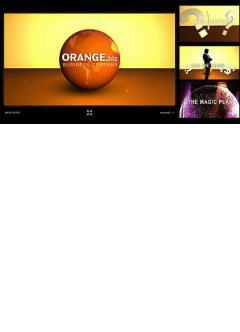 Orange Business Flash intro template