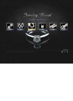 Jewelry brand VideoAdmin flash