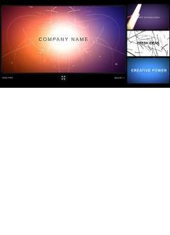 Company Intro Flash intro template