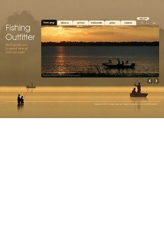 Fishing Outfitters Easy flash template