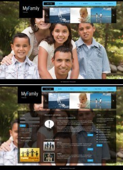 My Family v1.5 Joomla template
