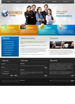 Business co. v1.5 Joomla template