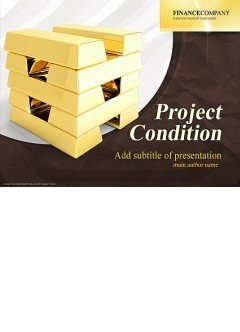 Gold Project Powerpoint templates