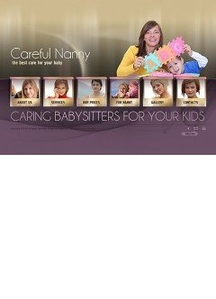 Nanny Service Easy flash template