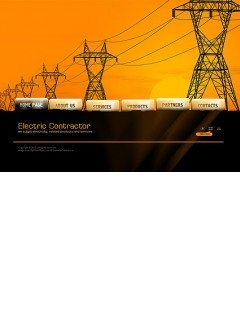 Electric Contractor Easy flash template