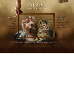 Pet Care Easy flash template